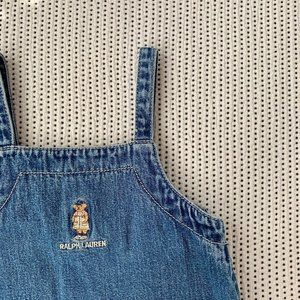 Polo Bear Ralph Lauren Denim Dress | 3T